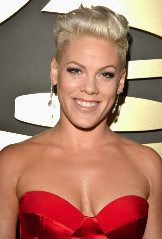 Celebrity Get the Look: P!nk at 2014 Grammy Awards : BEAUTY : Beauty World News