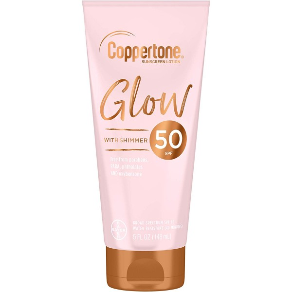 Coppertone Glow Sunscreen Lotion