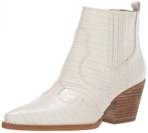 Winona Western Boot, Modern Ivory