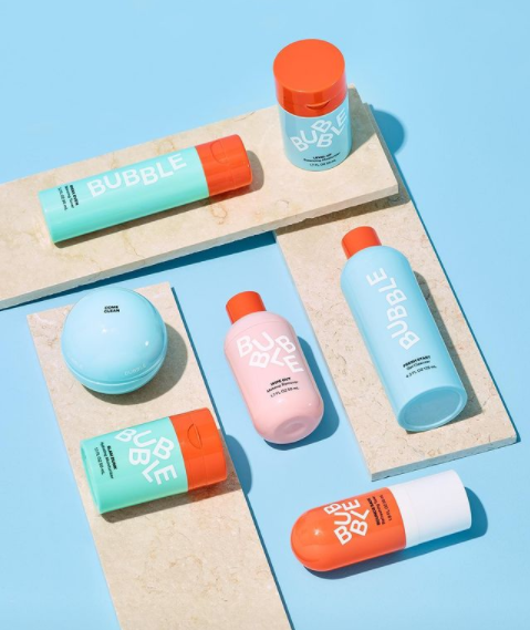 Meet Bubble, A Skincare Line Curated By Teens For Teens