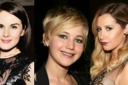 Michelle Dockery, Jennifer Lawrence, Ashley Tisdale All Wearing Wave Ear Cuffs By Graziela Gems: Celebrity Must Have