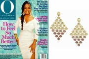 Oprah Shines Wearing Marco Bicego Earrings On The Cover Of 'O Magazine:' Best Bling Of The Week