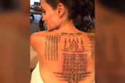 Angelina Jolie Got Matching Tattoo With Ex Brad Pitt Months Before Split