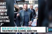 Ben Affleck Reveals He Completed Rehab | E! News
