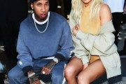 tyga kylie jenner yeezy season 4 fashion