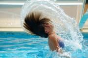 Pool hair