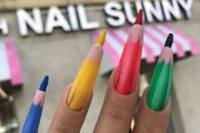Colored Pencil Nails