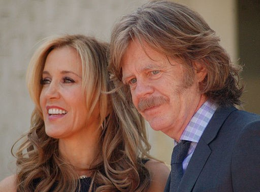 Felicity Huffman and husband William H. Macy
