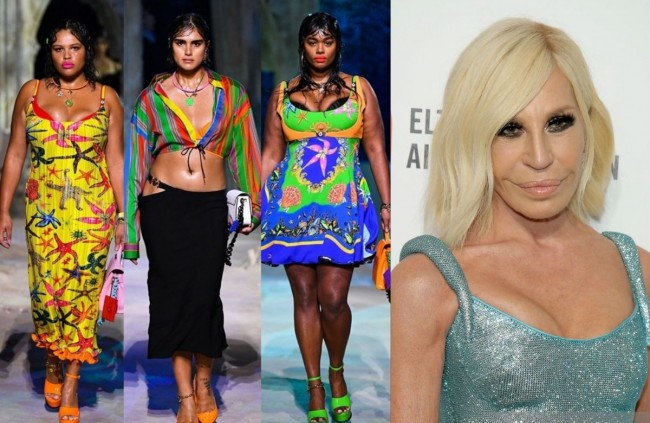 Versace Launches Spring and Summer 2021 Collections Debuted Plus-Size Runway Models