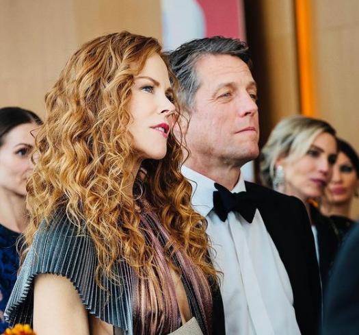 Nicole Kidman's Curly Hair Routine